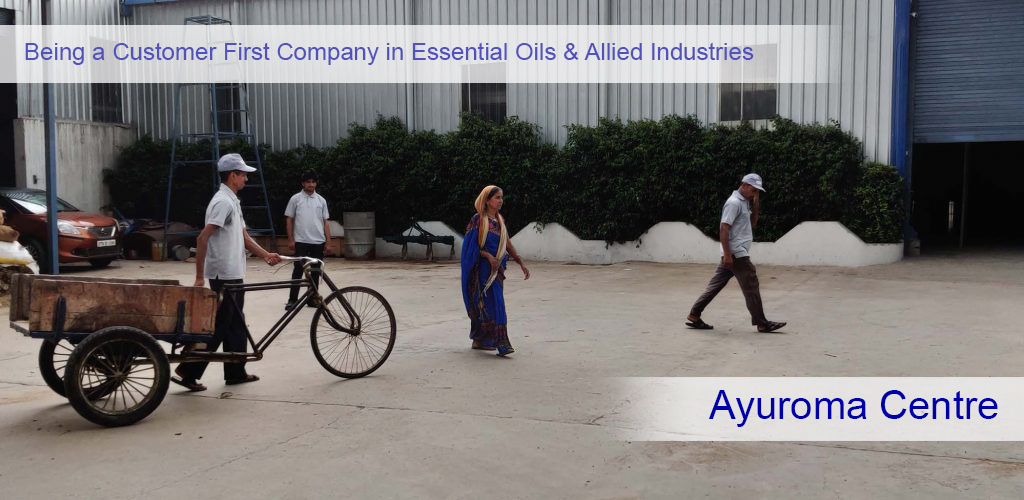 Being a Customer First Company in Essential Oils and Allied Industries.