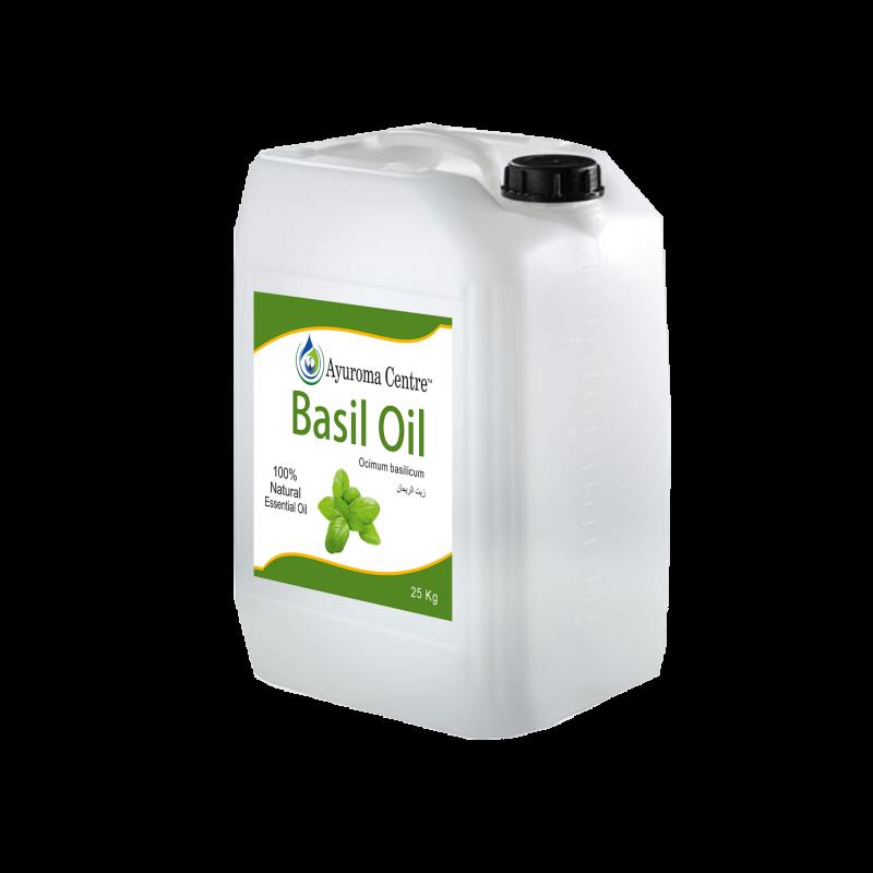Basil Oil AyuromaCentre