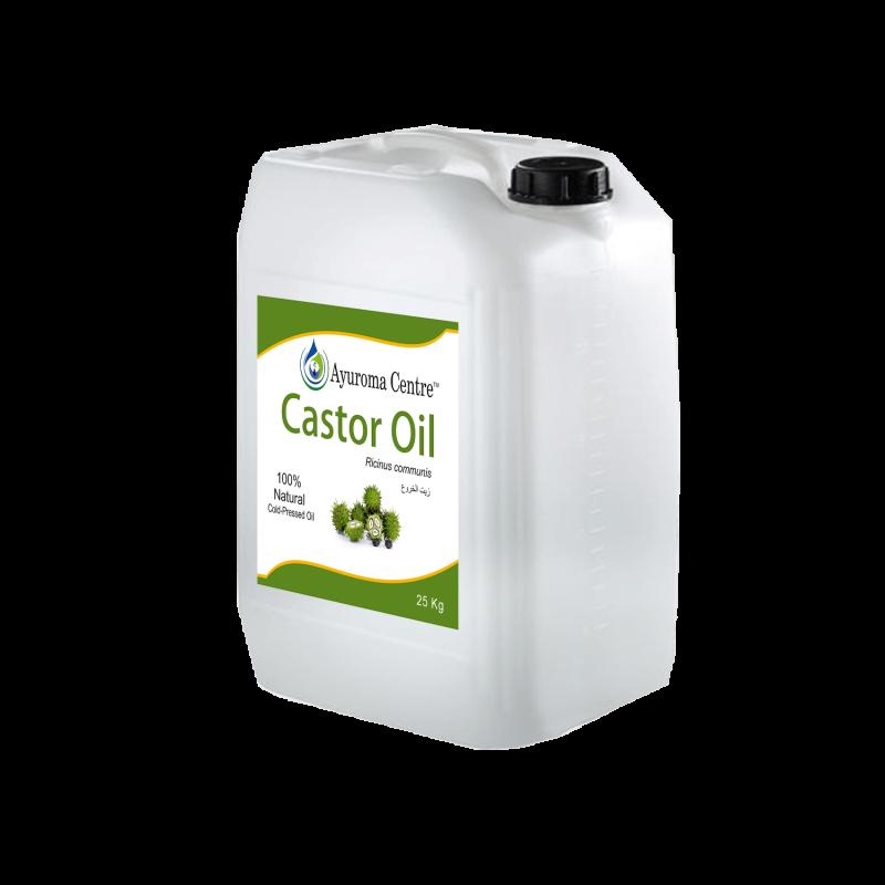 Castor Oil packaging ayuroma Centre